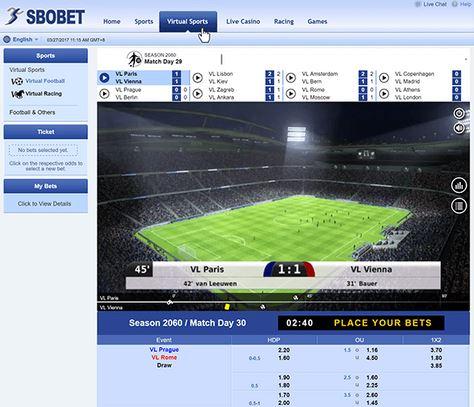 Bermain Virtual Sport Sbobet