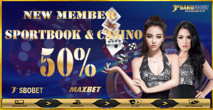 Promo Bonus Sbobet New Member 50%